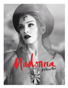 REBEL HEART TOUR - JOAN OF ARC OFFICIAL POSTER